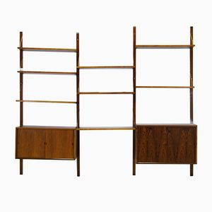 Danish Rosewood Wall Unit by Poul Cadovius for Royal System, 1960s