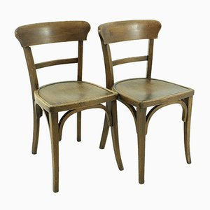 Vintage Dining Chairs, 1930s, Set of 2