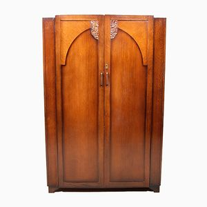 Vintage Oak Wardrobe, 1930s