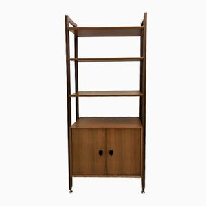 Danish Teak Library Shelving Unit, 1960s