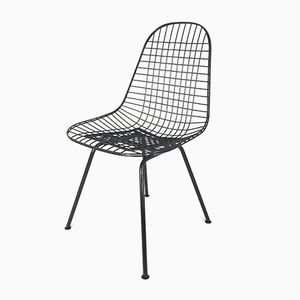 Vintage DKX Wire Chair by Charles & Ray Eames for Vitra