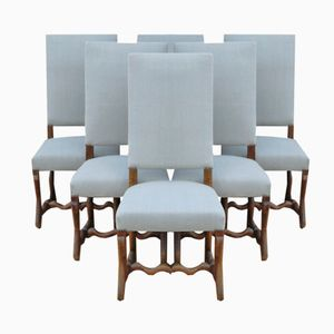 Vintage Os Du Mouton Dining Chairs, Set of 6