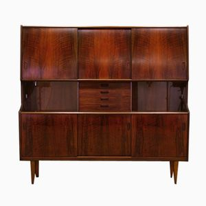 Danish Rosewood Credenza by Poul M. Jessen for Holger Christensen, 1960s