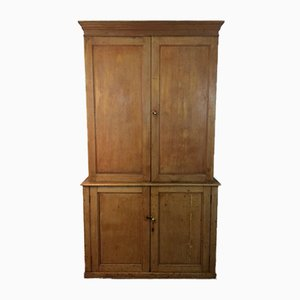Victorian Antique Pine Storage Cabinet