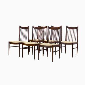 Modell 422 Esszimmerstühle von Arne Vodder für Sibast, 1960er, 6er Set