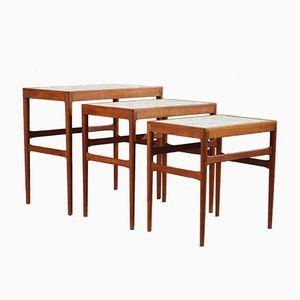 Tables Gigognes par Knud Mortensen pour Illums Bolighus, 1950s