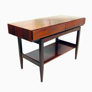 Vintage Danish Rosewood Console Table by Ib Kofod Larsen for Faarup Mobelfabrik