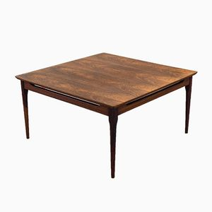 Square Vintage Rosewood Coffee Table