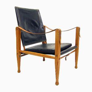 Dänischer Safari Sessel von Kaare Klint für Rud. Rasmussen, 1950er