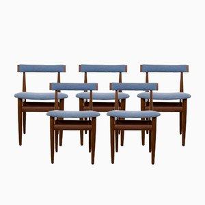 Dänische Vintage Teak Stühle von Hans Olsen für Frem Røjle, 5er Set