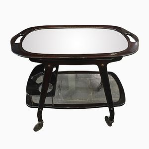 Vintage Italian Serving Cart by Cesare Lacca for Cassina, 1950s
