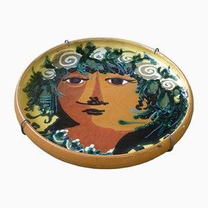 Mid-Century Vintage Ceramic Bowl by Bjørn Wiinblad