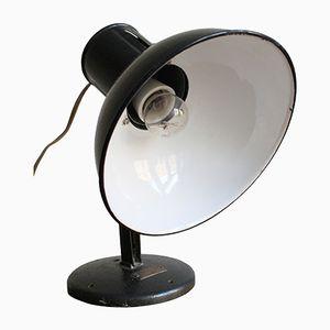 Czechoslovakian Industrial Metal Table Lamp