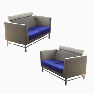 Eastside Sofas by Ettore Sottsass for Knoll, 1980s, Set of 2