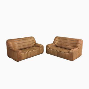 DS84 Zweisitzer Sofas von de Sede, 1970er, 2er Set