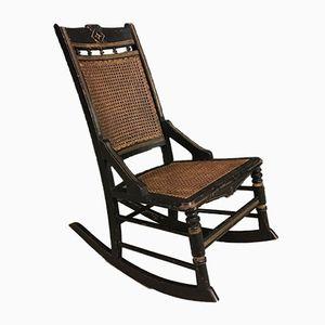Chaise à Bascule Antique, France