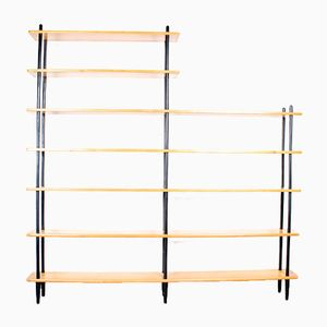 Vintage Shelves & Sticks Bookcase by Willem Lutjens for Gouda de Boer
