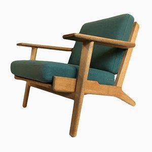GE290 Sessel mit Niedriger Rückenlehne von Hans J. Wegner für Getama, 1960er