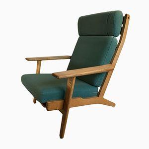 GE290 Sessel mit Hoher Rückenlehne von Hans J. Wegner für Getama, 1960er