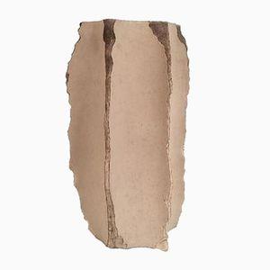 Vase aus Keramik von Gilles Caffier, 1980er