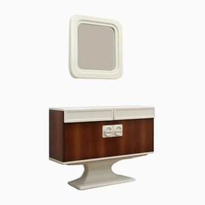 Italian Console & Mirror from Sormani, 1960s