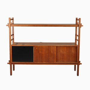 Scandinavian Teak Display Unit, 1960s