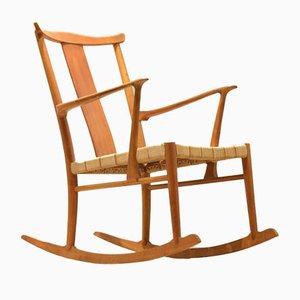 Chaise à Bascule Modèle 1773 par Axel O. Larsen pour Fritz Hansen, 1943