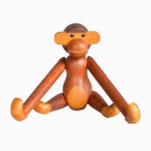 Vintage Teak Monkey by Kay Bojesen, 1950s