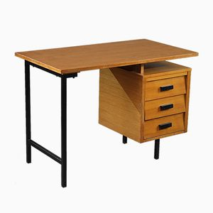 CM 172 Eiche Schreibtisch von Pierre Paulin für Thonet, 1950er