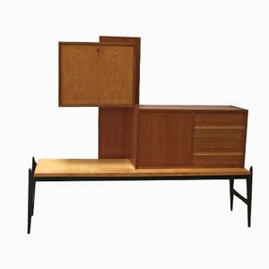 Bar Cabinet by Jos de Mey for Luxus, 1950s