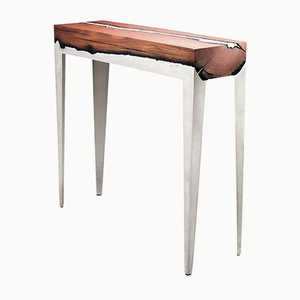 Wood Casting™ Long Console Table by Hilla Shamia