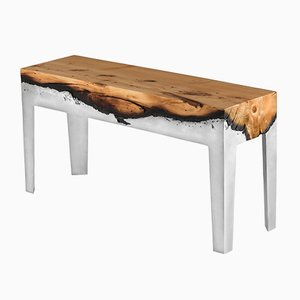 Wood Casting™ Bench by Hilla Shamia