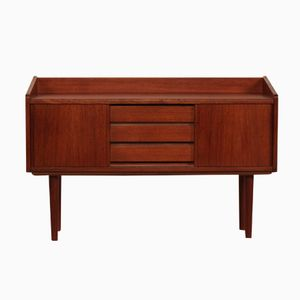 Danish Small Teak Sideboard, 1960s