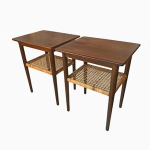 Mid-Century Rosewood Night Stands, 1960s, Set of 2