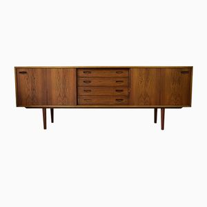 Rosewood Credenza by Clausen & Søn for Silkeborg, 1960s