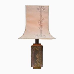 Brass Table Lamp by Pragos, 1970s