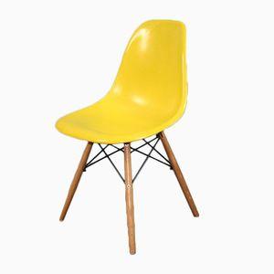 Vintage DSW Stuhl von Charles & Ray Eames für Herman Miller, 1960er