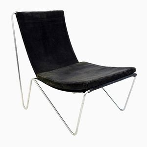 Black Bachelor Chair by Verner Panton, 1960s