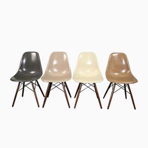 DSW Fiberglas Stühle von Charles & Ray Eames für Herman Miller, 1960er, 4er Set