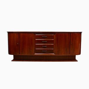 Vintage Art Deco Sideboard with 4 Drawers, 1930s