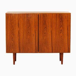 Small Danish Two-Door Rosewood Cabinet, 1960s