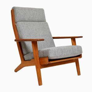 Danish Lounge Chair GE 290 The Plank by Hans J.Wegner for Getama, 1953