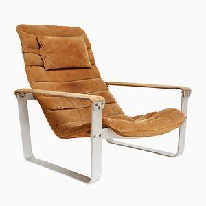 Mid-Century Pulkka Lounge Chair by Ilmari Lappalainen for ASKO, 1968