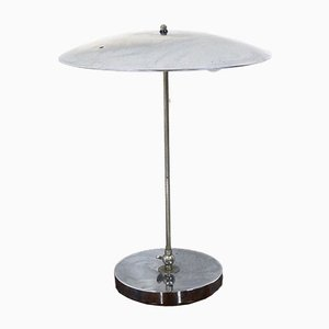 Mid-Century Dutch Chrome Table Lamp by Hala Zeist, 1960s