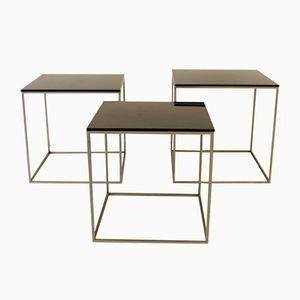 PK71 Nesting Tables by Poul Kjaerholm for Fritz Hansen, 1960s