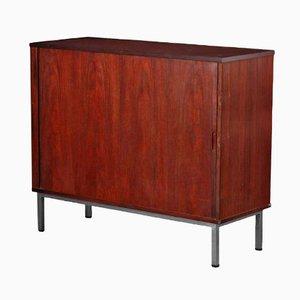 Danish Rosewood & Steel Cabinet, 1960s