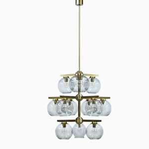 Mid-Century Chandelier by Holger Johansson for Westal