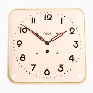 German Art Deco Wall Clock from Kienzle, 1930s