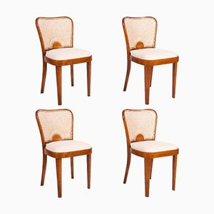 Dining Chairs from Fischel, 1930s, Set of 4