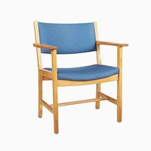 Vintage Armlehnstühle aus Lackiertem Eichenholz von Hans J. Wegner für Getama